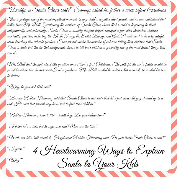 4 heartwarming letters to explain santa to your kids diy crafts 5 spiritdancerdesigns Images