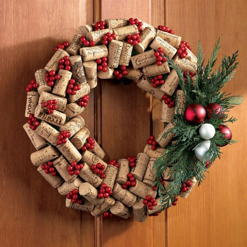 33 festive christmas wreaths you can easily diy diy crafts winey wreath solutioingenieria Images