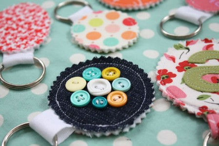 Fabric Key Chains