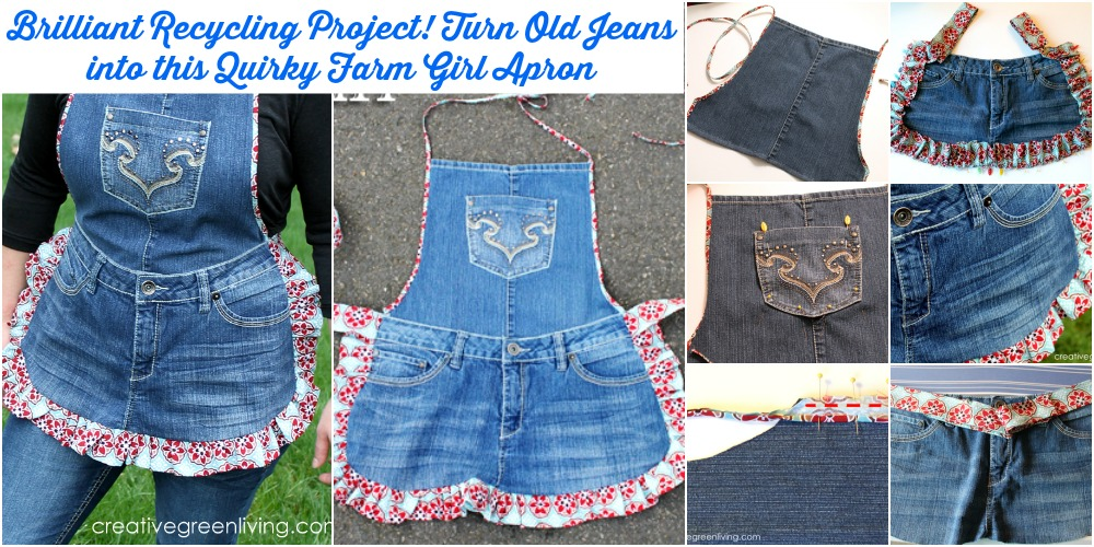 Brilliant Recycling Project! Turn Old Jeans into this ...