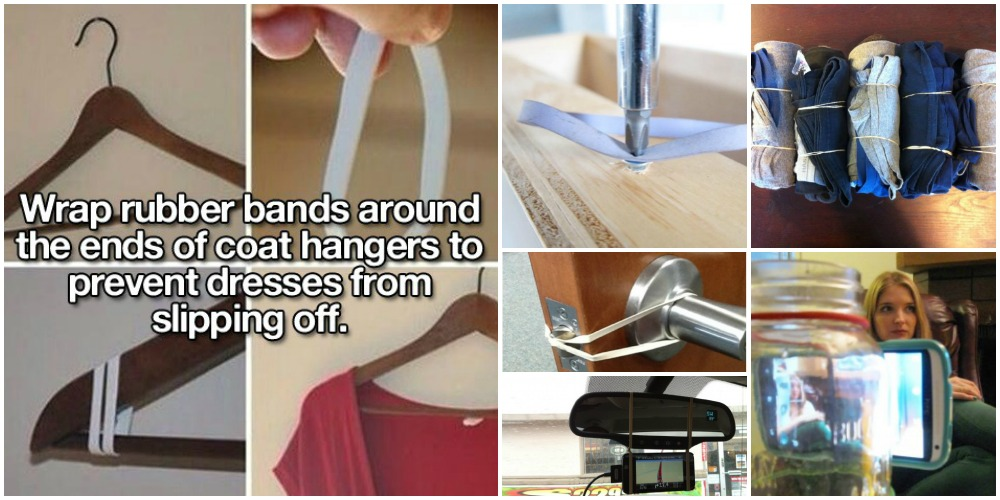 15 Genius Rubber Band Lifehacks To Simplify Your Life