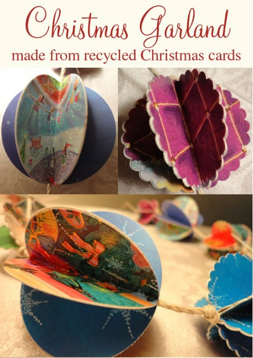 Crafts Using Greeting Cards