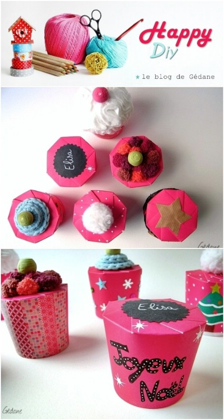 Turn a paper cup into an adorable box.