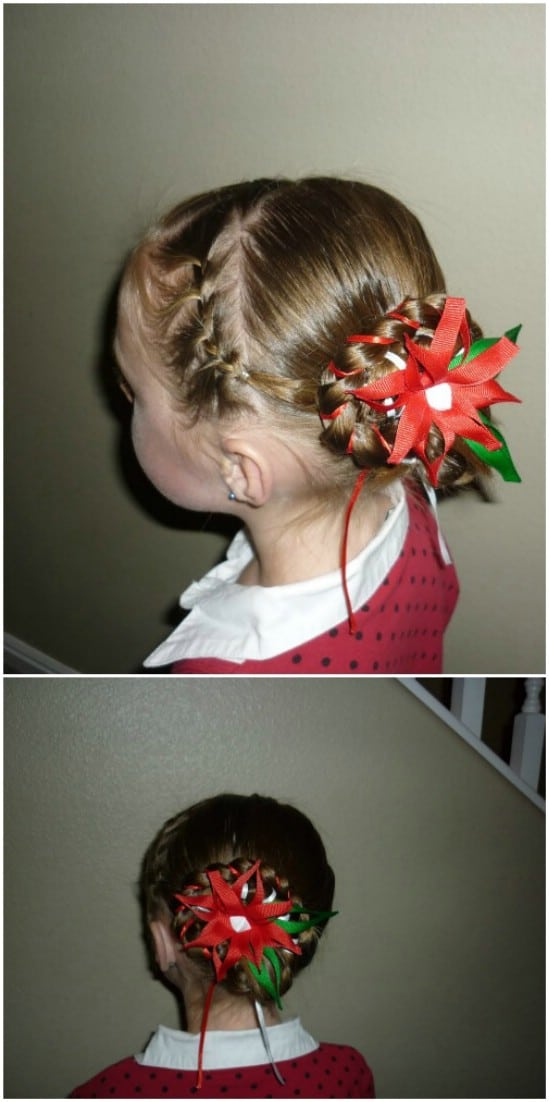 12 super cute diy christmas hairstyles for all lengths diy crafts holiday bun 12 super cute diy christmas hairstyles for all lengths solutioingenieria Gallery
