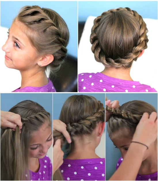 12 super cute diy christmas hairstyles for all lengths diy crafts crown rope twist 12 super cute diy christmas hairstyles for all lengths solutioingenieria Gallery