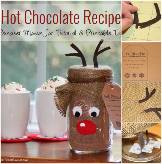 hot chocolate recipe 12 magnificent mason jar christmas decorations you can make yourself