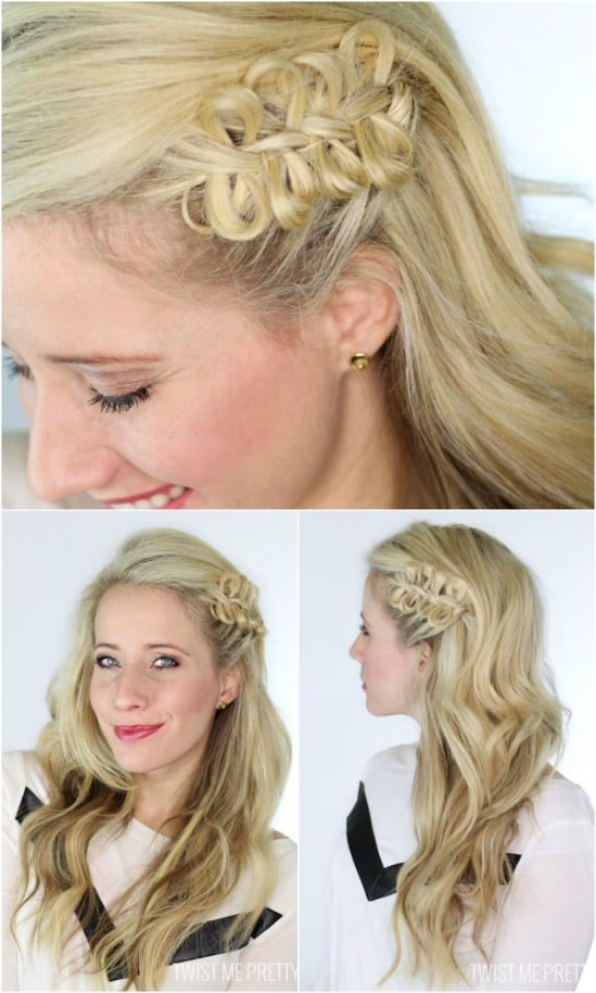 12 super cute diy christmas hairstyles for all lengths diy crafts bow braid 12 super cute diy christmas hairstyles for all lengths solutioingenieria Gallery
