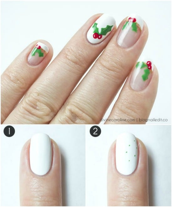 20 Fantastic DIY Christmas Nail Art Designs That Are Borderline Genius - 20 Fantastic DIY Christmas Nail Art Designs That Are Borderline