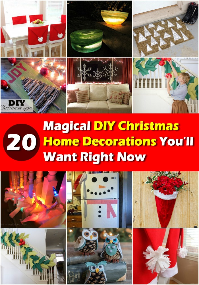 20 magical diy christmas home decorations youll want right now - When Do You Decorate For Christmas