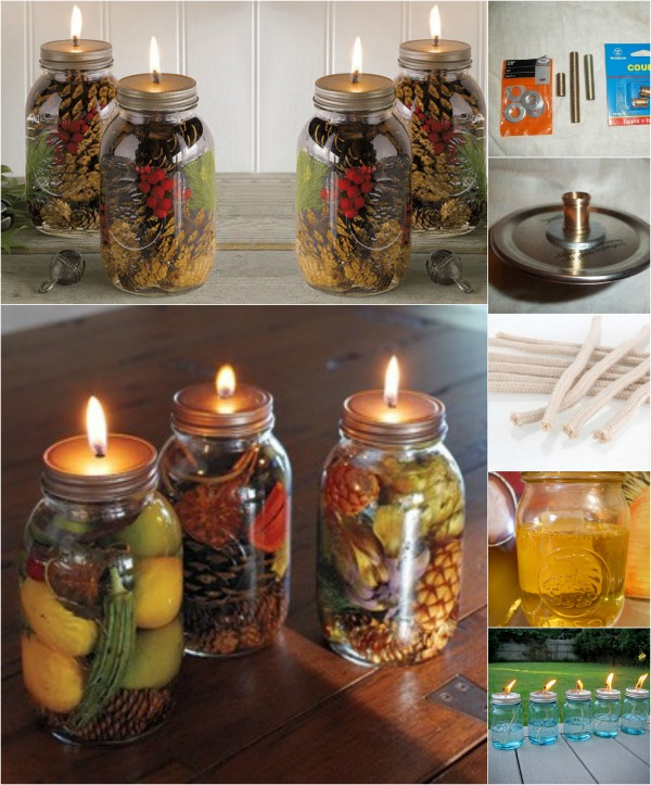 Fabulous diy scented mason jar oil candles diy crafts for Scents for homemade candles