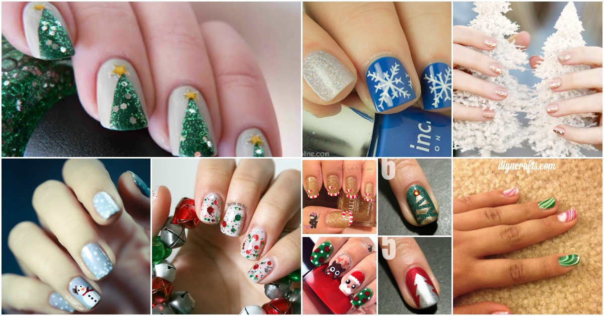 20 fantastic diy christmas nail art designs that are borderline 20 fantastic diy christmas nail art designs that are borderline genius diy crafts solutioingenieria Image collections