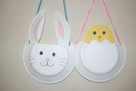 More fun paper plate crafts. & 40 Fun and Creative Easter Crafts for Kids and Toddlers - Page 4 of ...