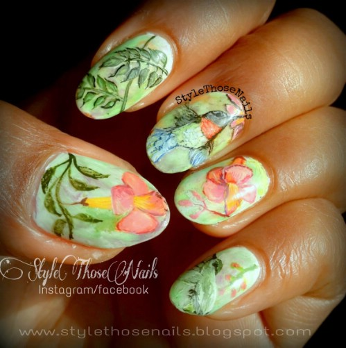 Top 101 Most Creative Spring Nail Art Tutorials And Designs Page 4