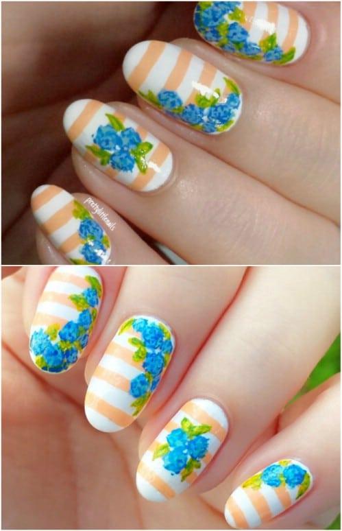 Stripy Floral