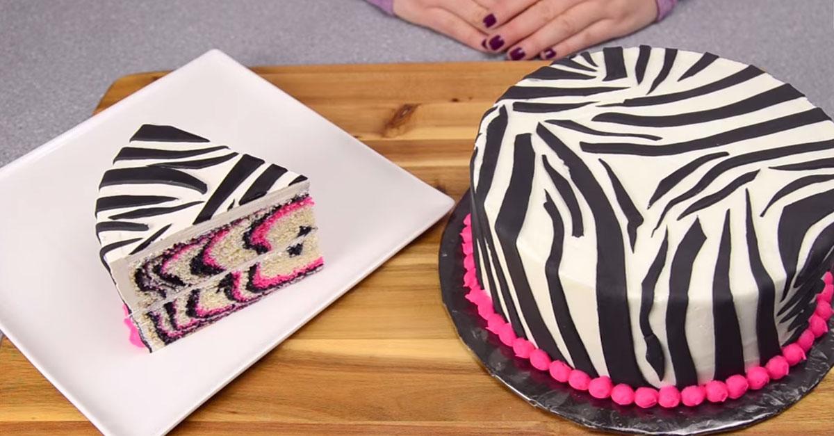 Baking Made Easy Zebra Cake