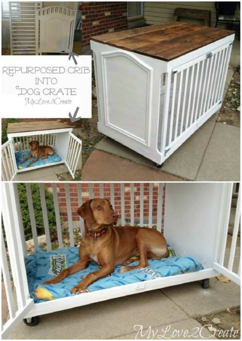 Diy Crib Mattress Dog Bed