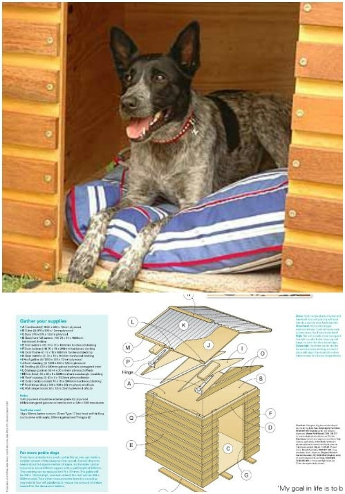 Rustic Home - 15 Brilliant DIY Dog Houses With Free Plans For Your Furry Companion