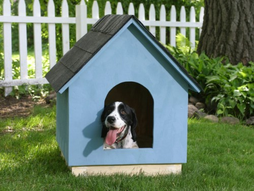 A Tried and Tested Classic - 15 Brilliant DIY Dog Houses With Free Plans For Your Furry Companion