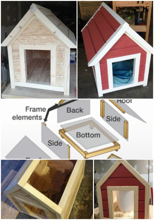 15 Brilliant DIY Dog Houses With Free Plans For Your Furry ...