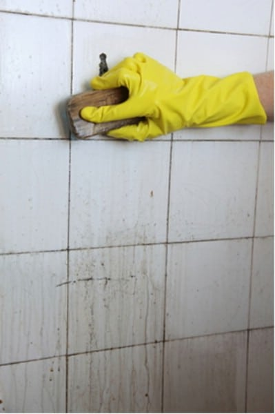 Clean your tiles - 51 Extraordinary Everyday Uses for Hydrogen Peroxide