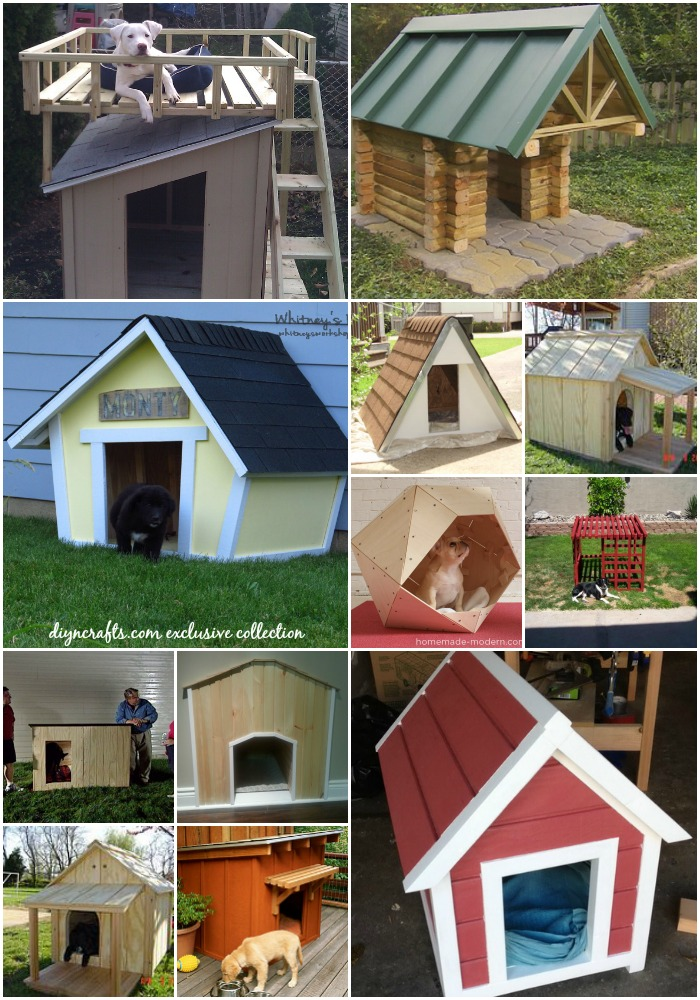 15 brilliant diy dog houses with free plans for your furry for Modern dog house designs