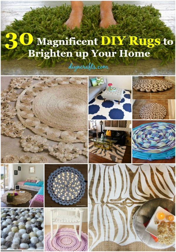 Magnificent DIY Rugs To Brighten Up Your Home DIY Crafts - Diy rugs projects