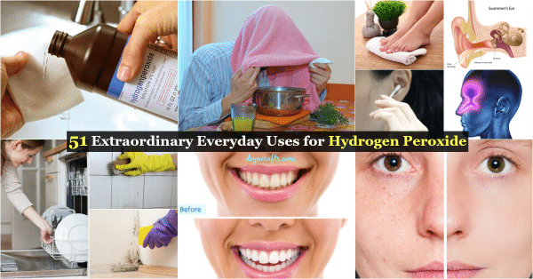 51 Extraordinary Everyday Uses for Hydrogen Peroxide