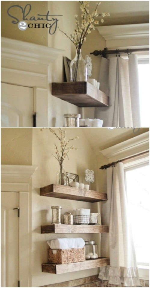 50 Decorative Rustic Storage Projects For a Beautifully ...