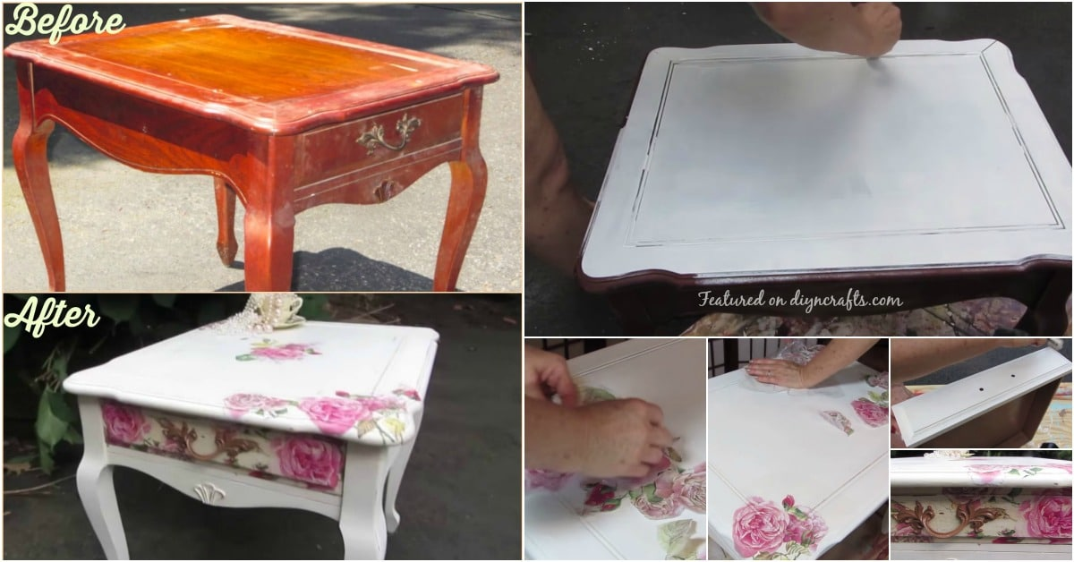 How To Decoupage Beautifully Save Money And Upcycle Any