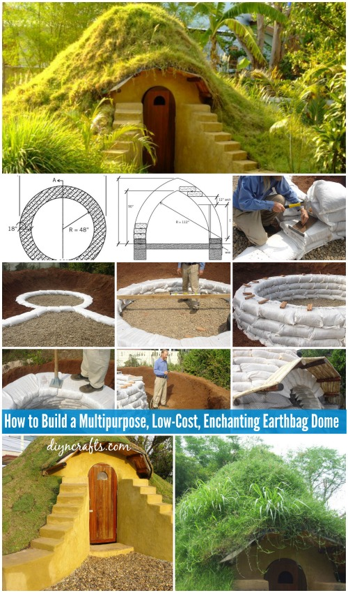 How to build a multipurpose low cost enchanting earthbag for Cost to build craftsman home