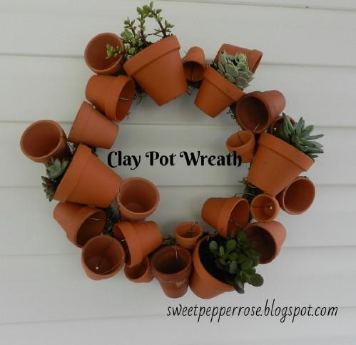 Mini Pot Wreath