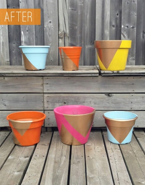 Beautify your planters.