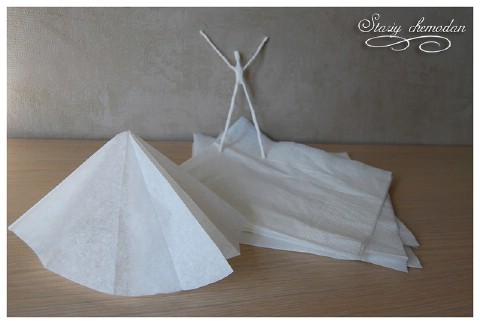 How to Make Dancing Ballerinas from Wire and Napkins - DIY & Crafts