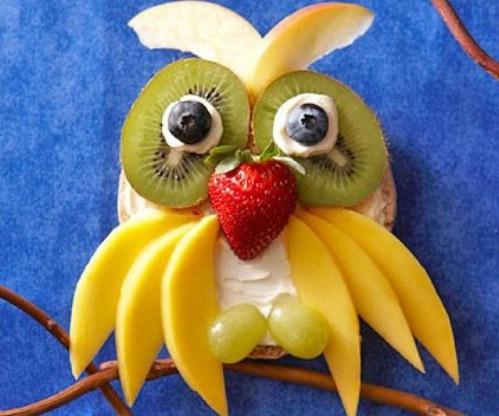 Owl Bagel