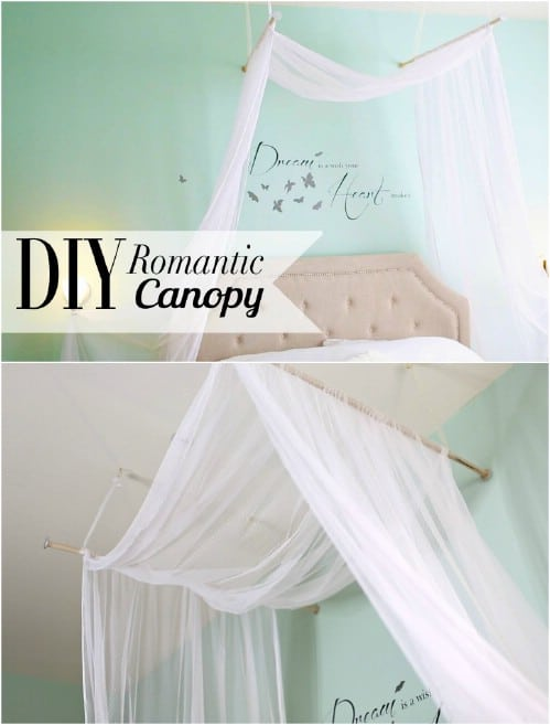 Bed Canopy Diy Entrancing Sleep In Absolute Luxury With These 23 Gorgeous Diy Bed Canopy . Decorating Design