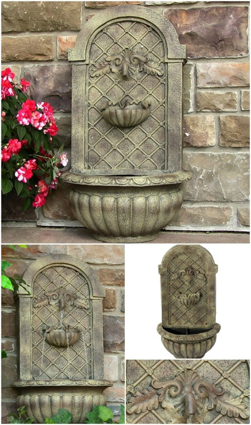 To Buy: Venetian Wall Fountain