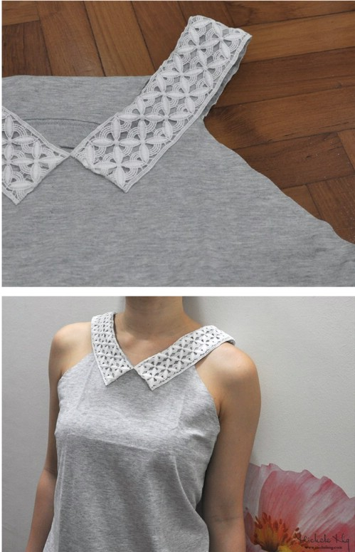 57 clothing tips tricks and projects that are borderline genius cut collar solutioingenieria Images