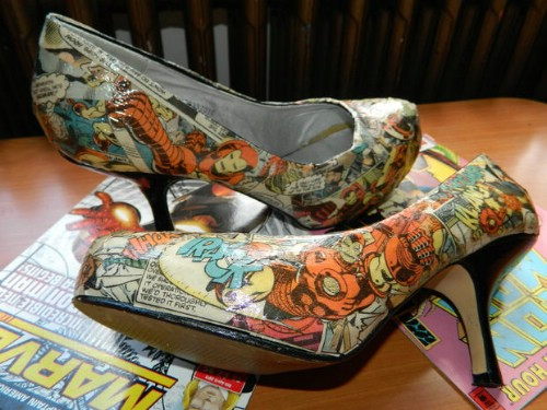 Comic Book Shoes