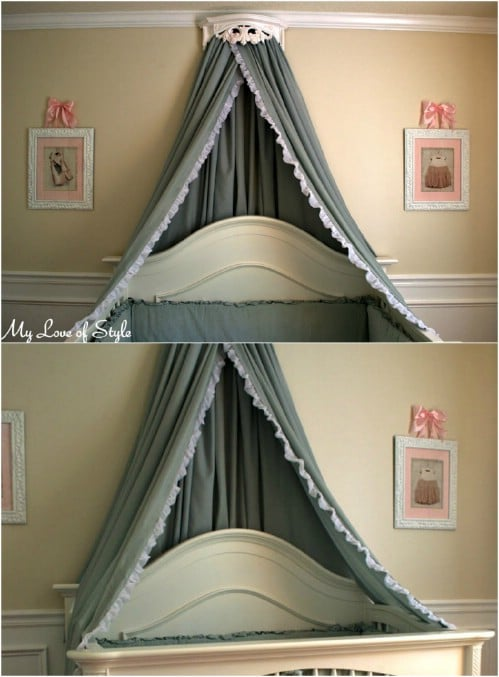 How To Make Your Own Bed Crown Canopy