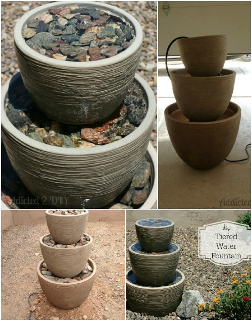 Tiered Pot Fountain