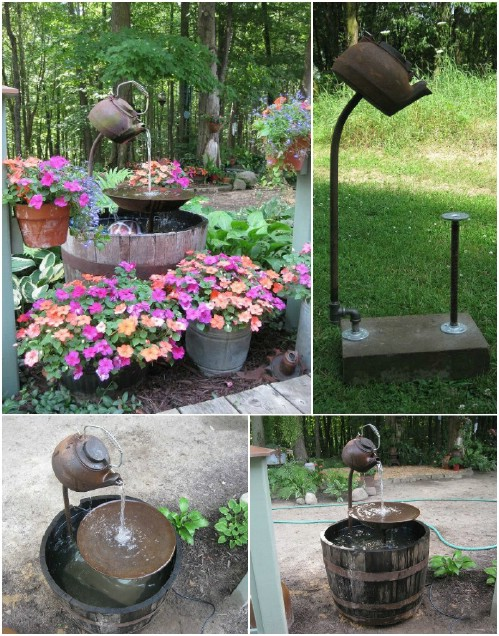 Teapot Fountain