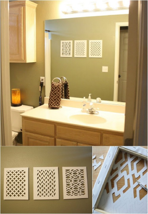 26 Easy and Gorgeous DIY Wall Art Projects that Absolutely Anyone ...