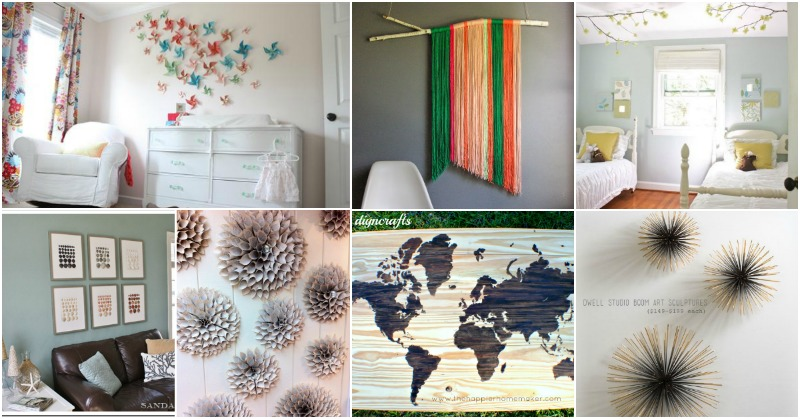 26 easy and gorgeous diy wall art projects that absolutely anyone