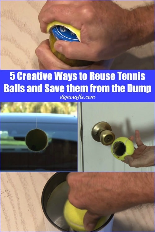 5 Creative Ways to Reuse Tennis Balls and Save them from the Dump