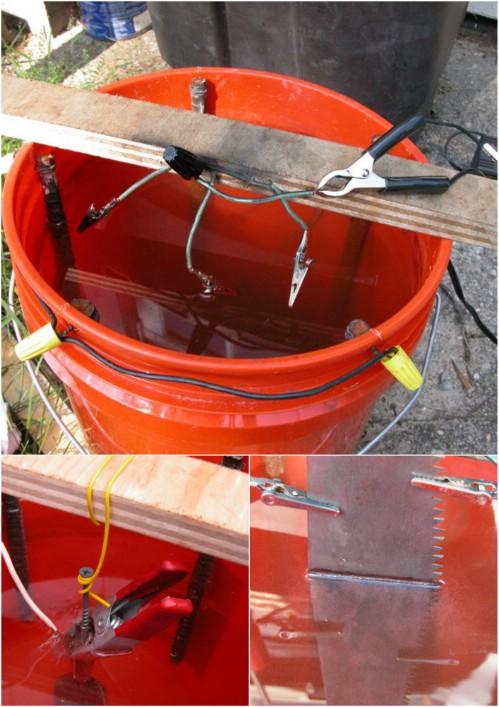 Step 3 - Rusty Tools? Try this Incredible Electrolytic Rust Removal Trick