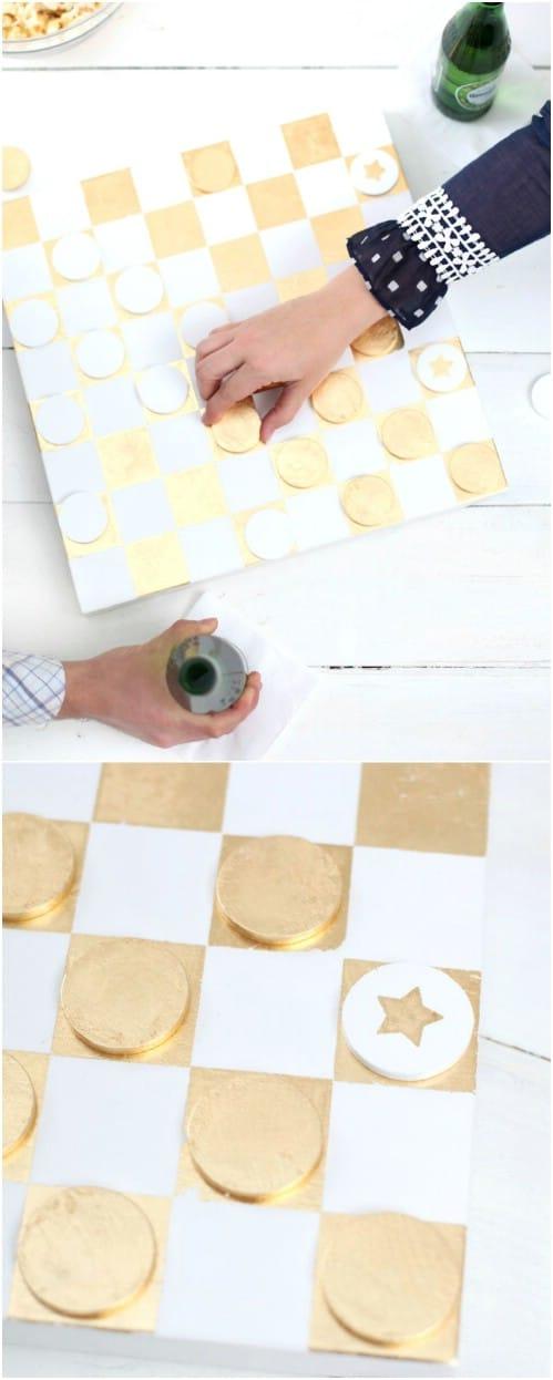 Golden Checkerboard