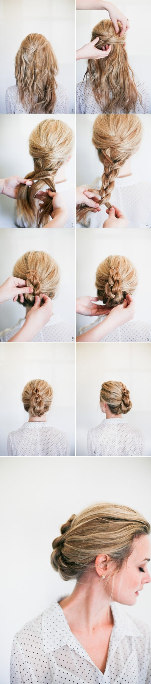 20 Gorgeous 5-Minute Hairstyles to Save You some Snooze Time - DIY ...