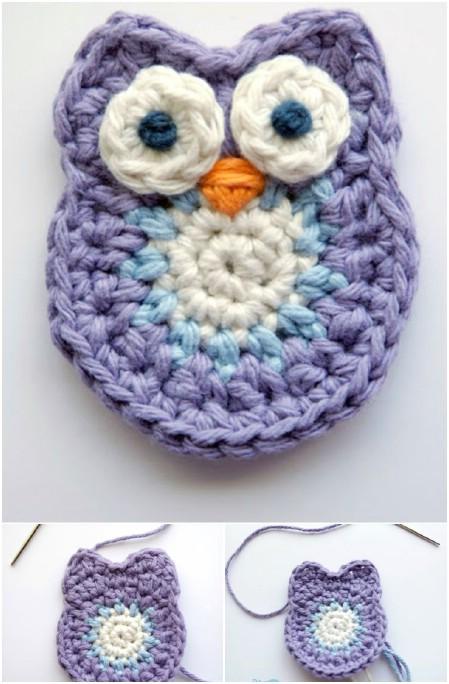 Crochet a cute owl