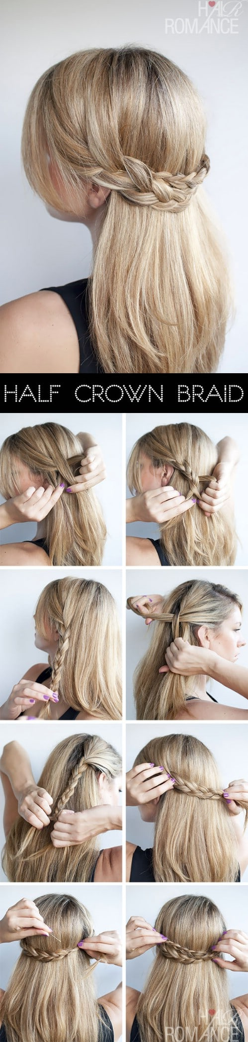 20 gorgeous 5 minute hairstyles to save you some snooze time diy 20 gorgeous 5 minute hairstyles to save you some snooze time baditri Image collections
