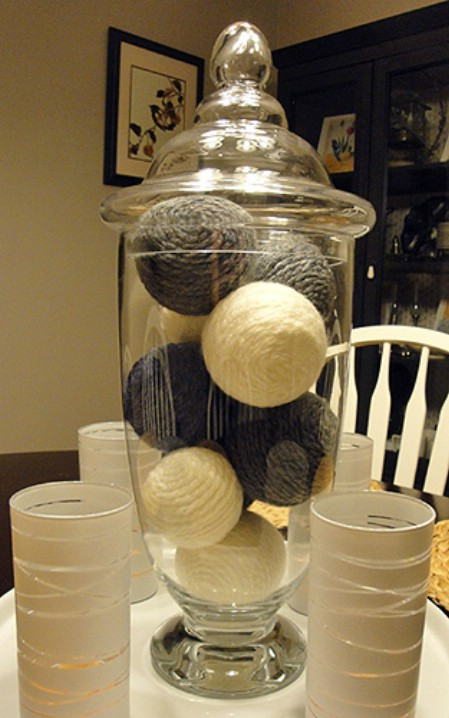 "Easy ""yarn balls"""